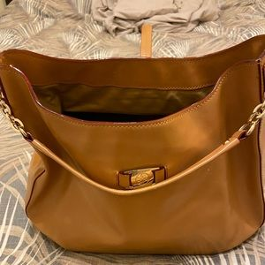 ANTONIO Melani Tan Hobo Shoulder Bag